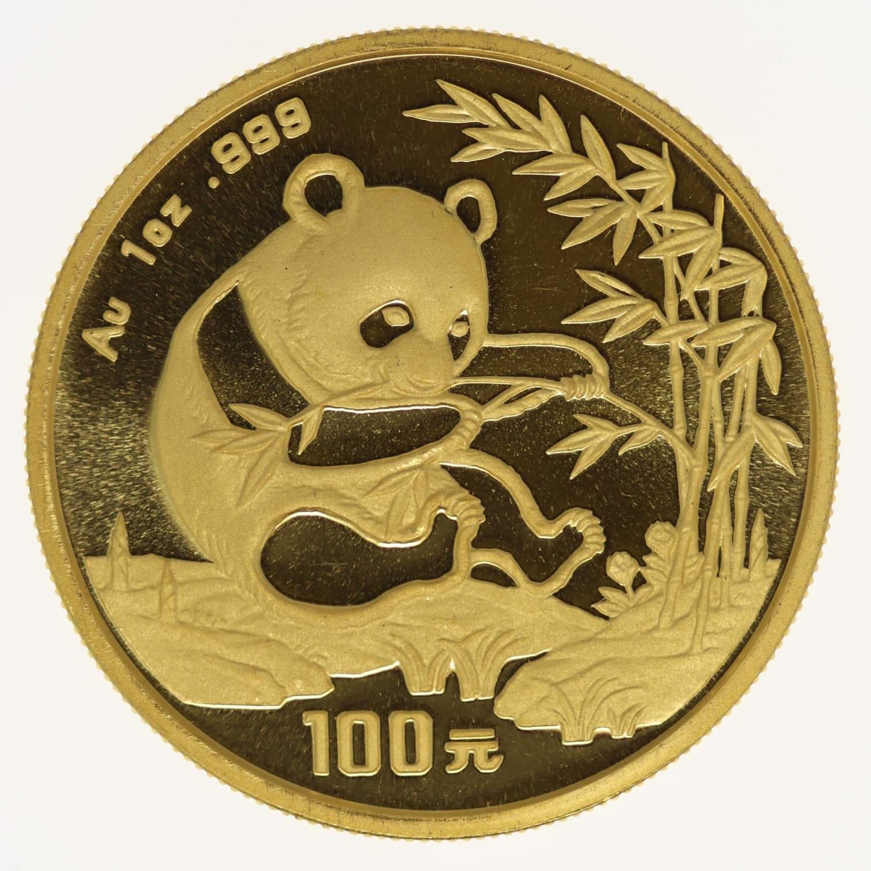 china - China Panda 1 Unze 1994