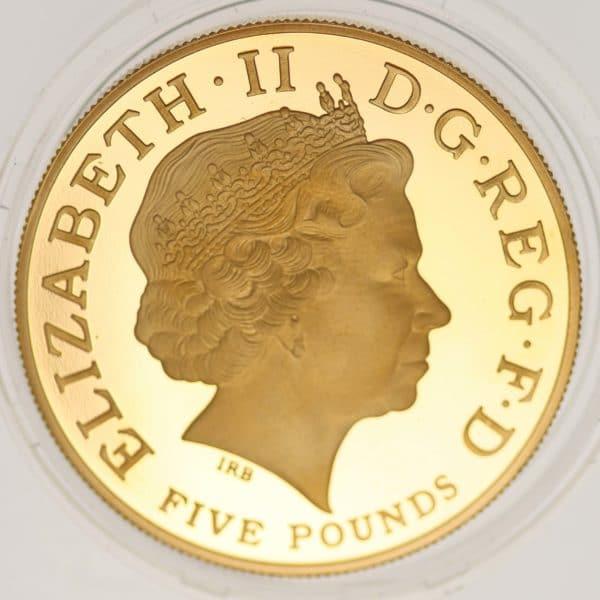 grossbritannien - Großbritannien Elisabeth II. 5 Pounds 2010