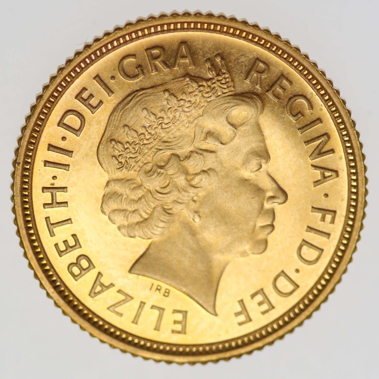 grossbritannien - Großbritannien Elisabeth II. 1/2 Sovereign 2005