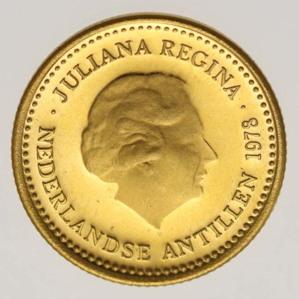 niederlaendische-antillen, niederlande - Niederländische Antillen Juliana 100 Gulden 1978