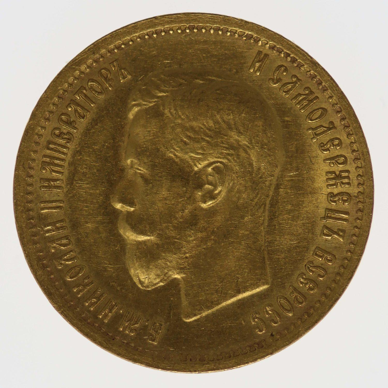 russland - RusslandNikolaus II. 10 Rubel 1899