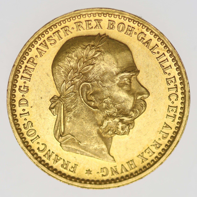 oesterreich - Österreich Kaiserreich Franz Joseph I. 10 Kronen 1905