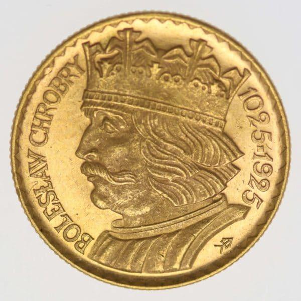 polen - Polen 10 Zloty 1925