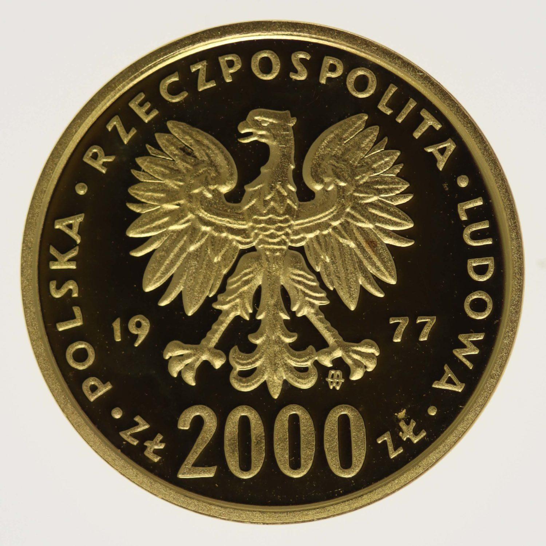 polen - Polen 2000 Zloty 1977 Chopin