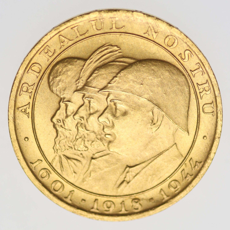 rumaenien - Rumänien Michael I. 20 Lei 1944