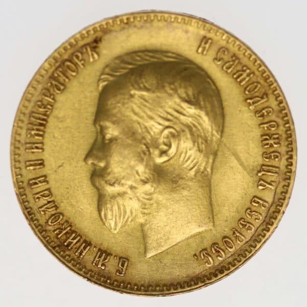 russland - RusslandNikolaus II. 10 Rubel 1903
