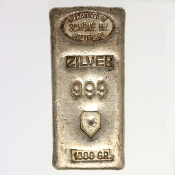 silberbarren - Silberbarren 1 Kilogramm Schöne Edelmetaal B.V.