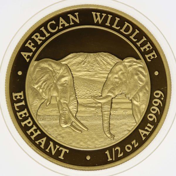 somalia - Somalia 500 Shillings 2020 African Wildlife Elephant