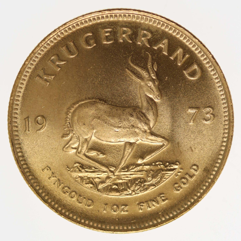 suedafrika - Südafrika Krügerrand 1 Unze 1972