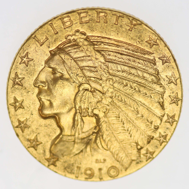 usa - USA 5 Dollars 1910 Indianer