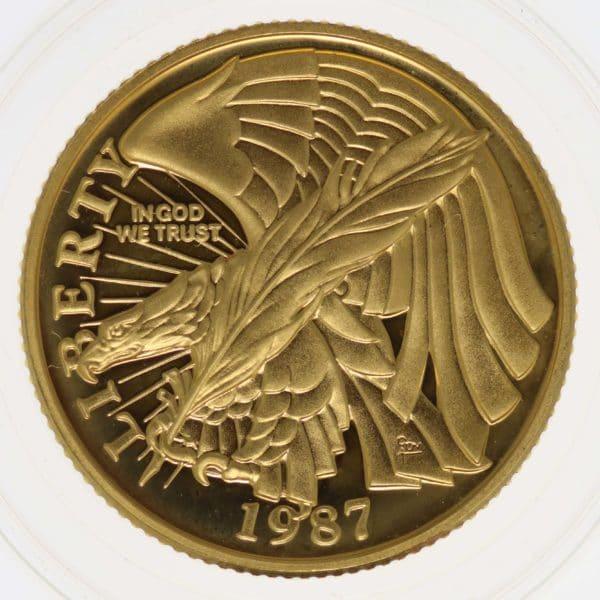 usa - USA 5 Dollars 1987 Verfassung