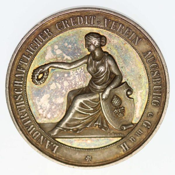 altdeutschland-deutsche-silbermuenzen - Augsburg Silbermedaille o.J.