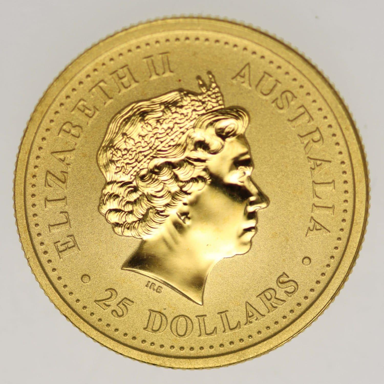australien - Australien Elisabeth II. 25 Dollars 2005