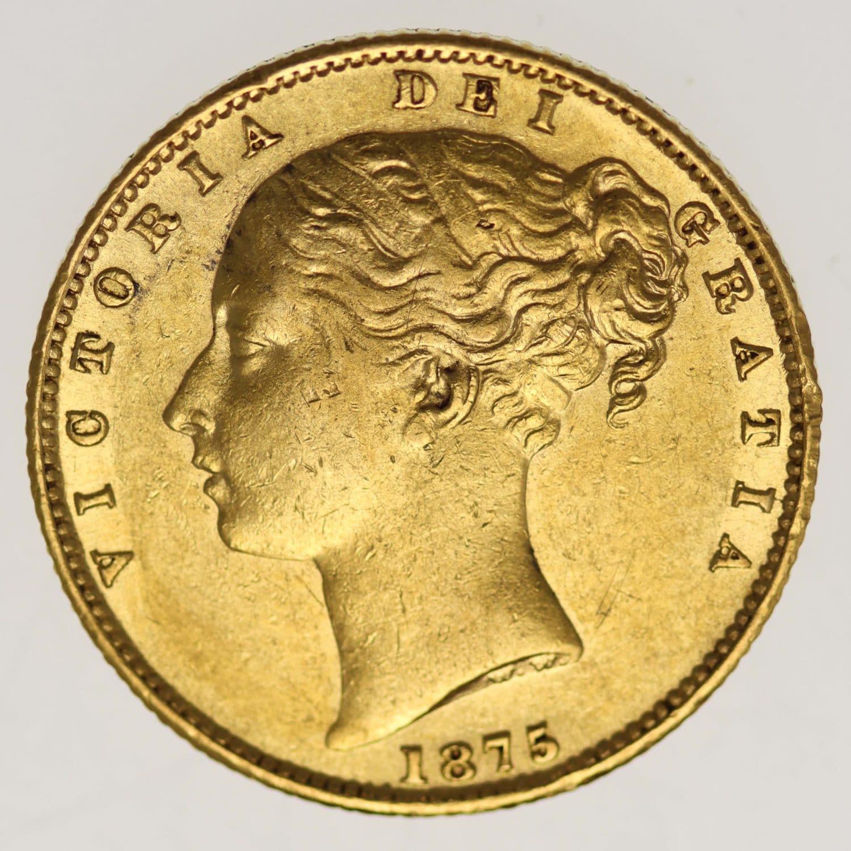 australien - Australien Victoria Sovereign 1875 S