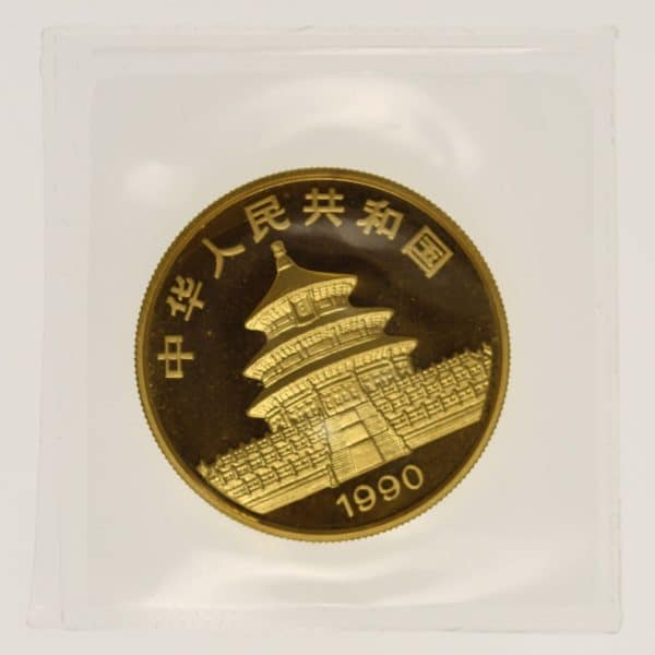 china - China Panda 1 Unze 1990