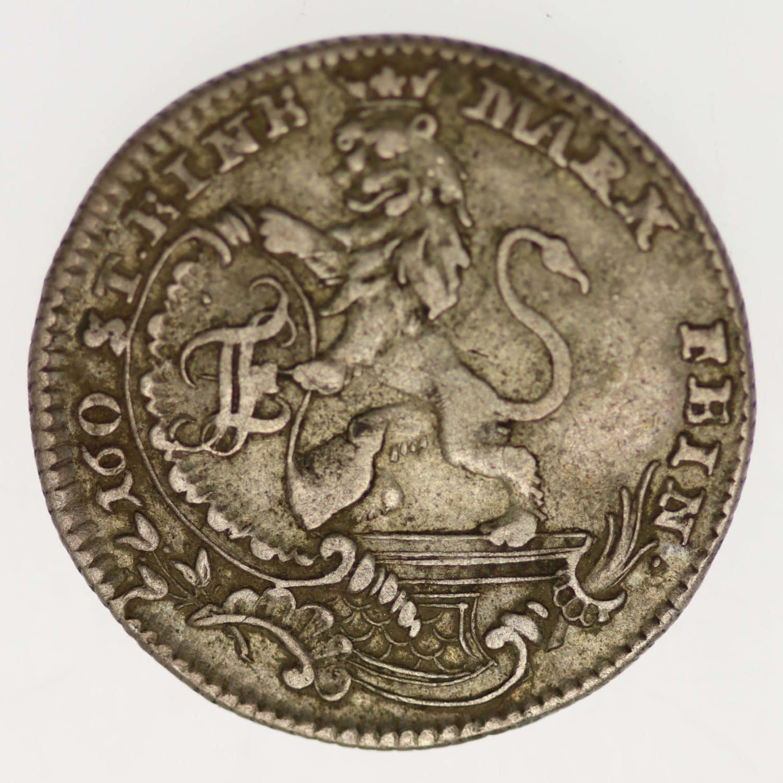 altdeutschland-deutsche-silbermuenzen - Hessen Kassel Friedrich II. 1/12 Taler 1766