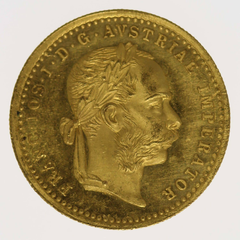 oesterreich - Österreich Kaiserreich Franz Joseph I. Dukat 1878