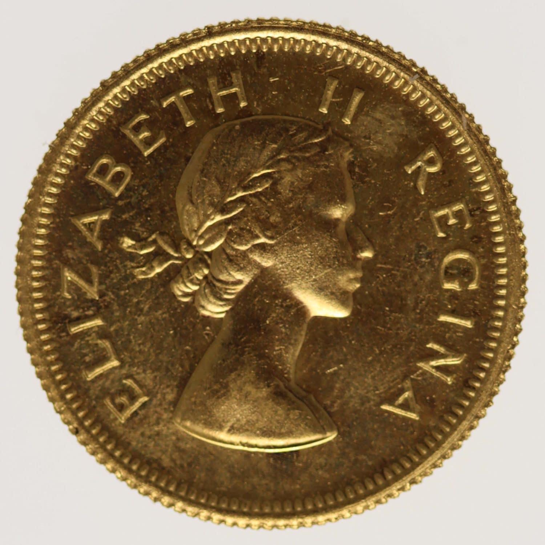 suedafrika - Südafrika Elisabeth II. Half Pound 1960