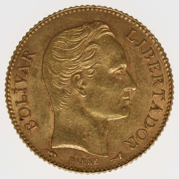 venezuela - Venezuela 20 Bolivares 1912