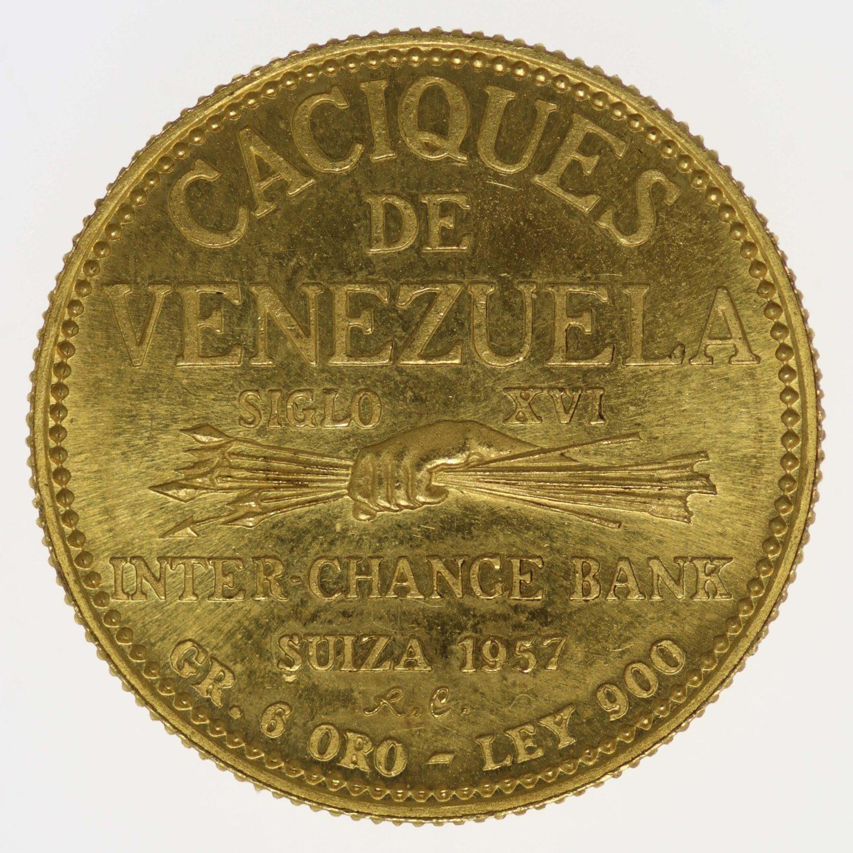 venezuela - Venezuela Goldmedaille 1957