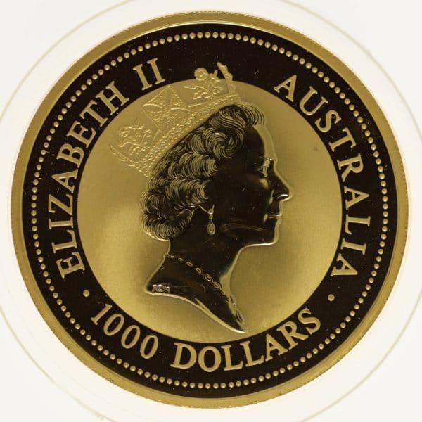 australien - Australien Elisabeth II. 1000 Dollars 1994 Red Kangaroo