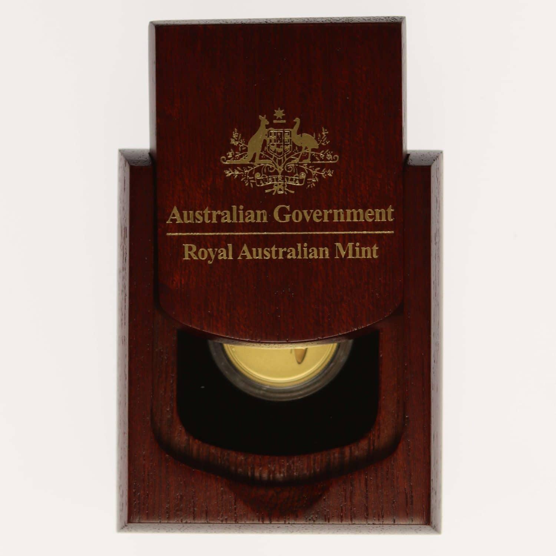 australien - Australien Elisabeth II. 25 Dollars 2017 Kangaroo at Sunset 1/5 OZ