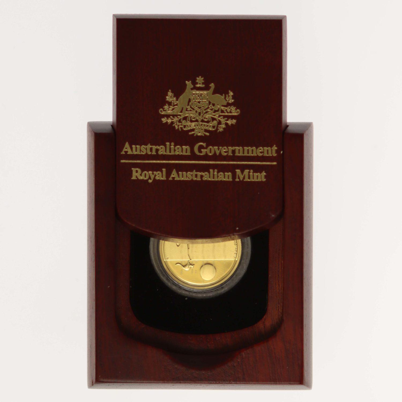 australien - Australien Elisabeth II. 25 Dollars 2018 Kangaroo at Sunset 1/5 OZ