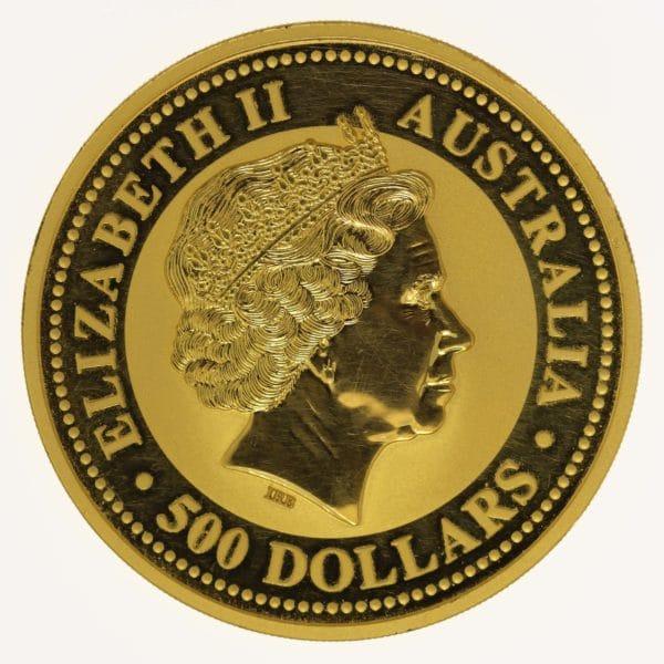 australien - Australien Elisabeth II. 500 Dollars 2015 Känguru