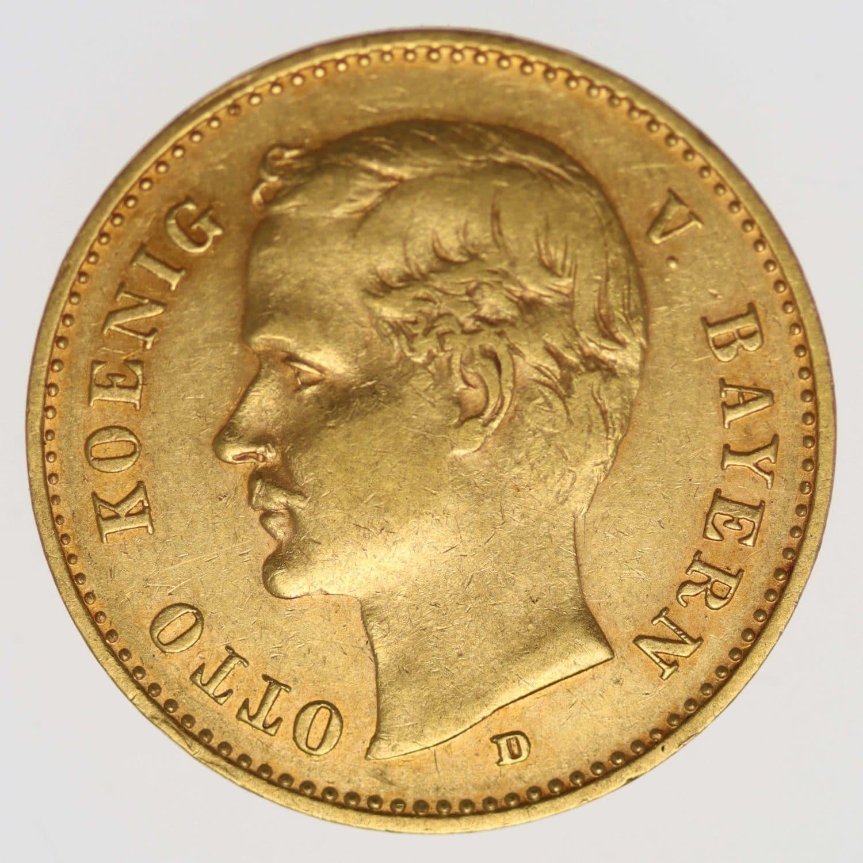 deutsches-kaiserreich-ab-1871 - Bayern Otto 10 Mark 1905