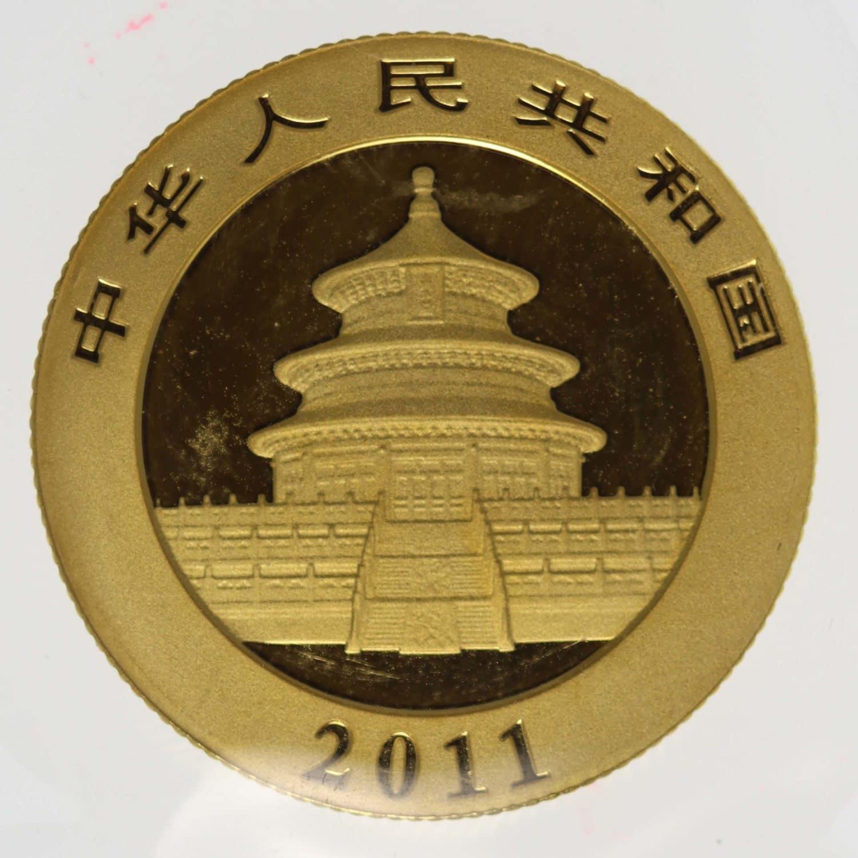 china - China Panda 1/4 Unze 2011