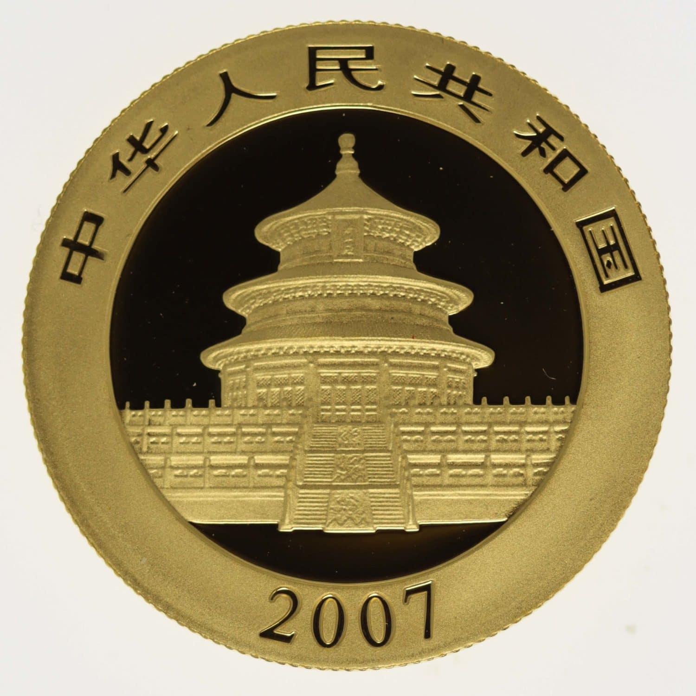 china - China Panda 1/2 Unze 2007
