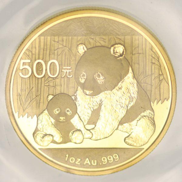 china - China Panda 1 Unze 2012