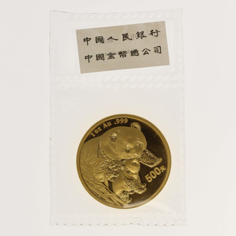 china - China Panda 1 Unze 2004