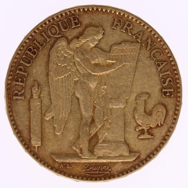 frankreich - Frankreich 100 Francs 1881 A