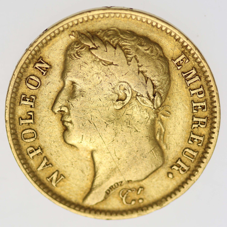 frankreich - Frankreich Napoleon I. 40 Francs 1810 W