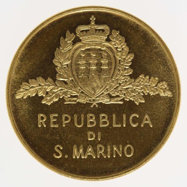 san-marino - San Marino 5 Scudi 1981