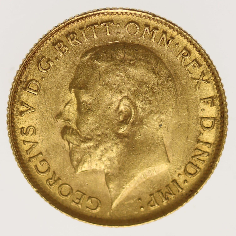 suedafrika - Südafrika Georg V. 1/2 Sovereign 1926 SA