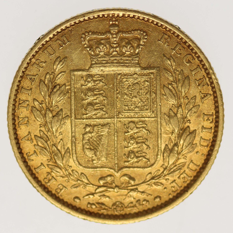 grossbritannien - Großbritannien Victoria Sovereign 1848