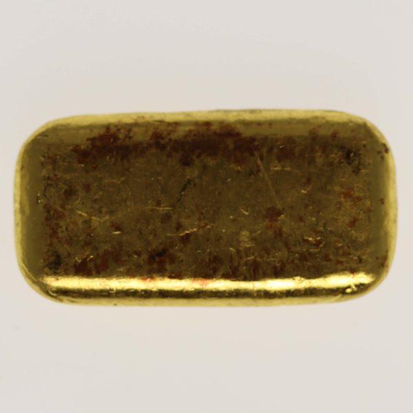 allgemein - Historische Goldbarren: Begehrtes Altgold erzählt die Geschichte des Goldhandels