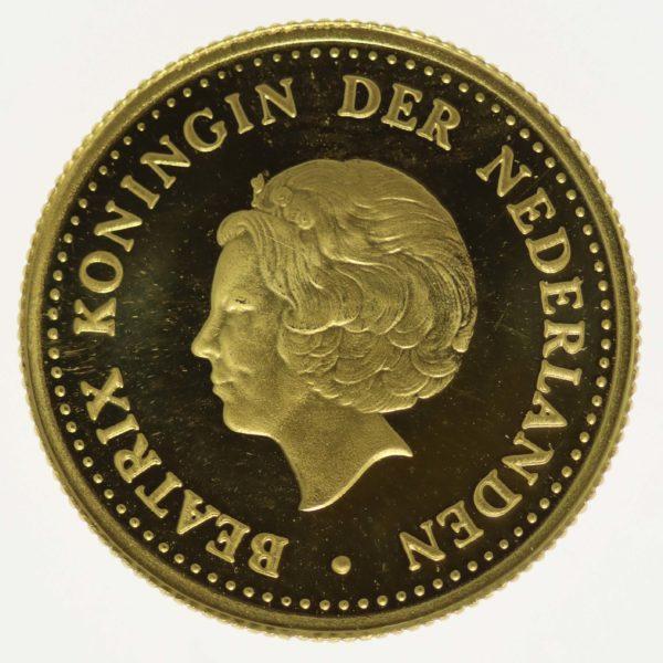 niederlaendische-antillen, niederlande - Niederländische Antillen Beatrix 5 Gulden 1980