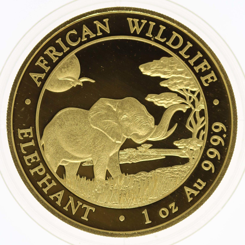 somalia - Somalia African Wildlife 1.000 Shillings 2019 Elephant