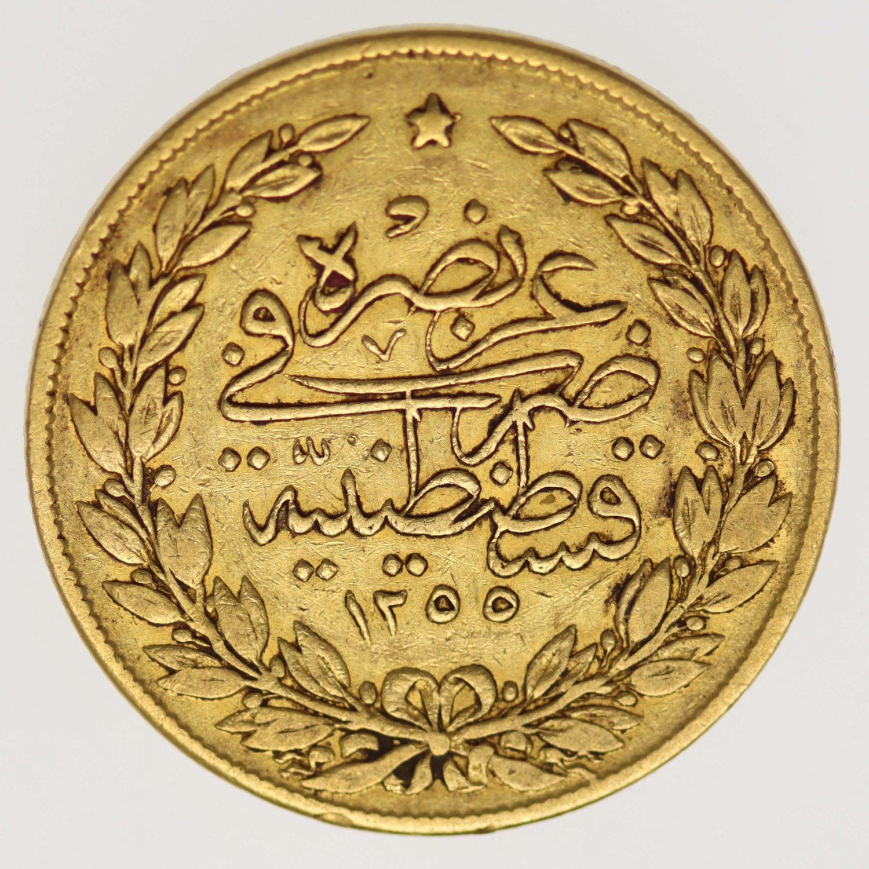 tuerkei - Türkei Abdul Mejid 100 Kurush 1839