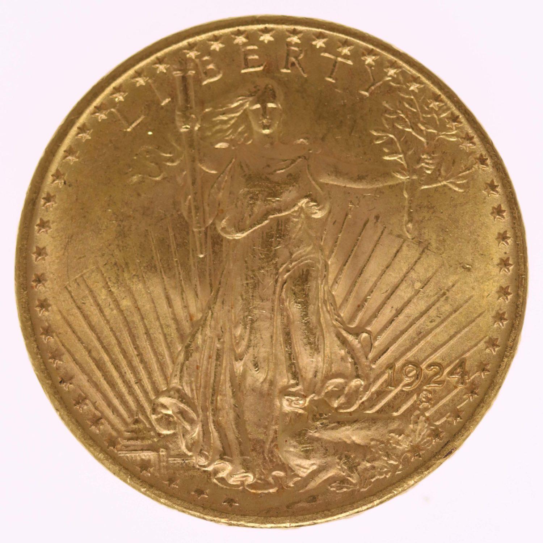 usa - USA 20 Dollars 1924 Statue
